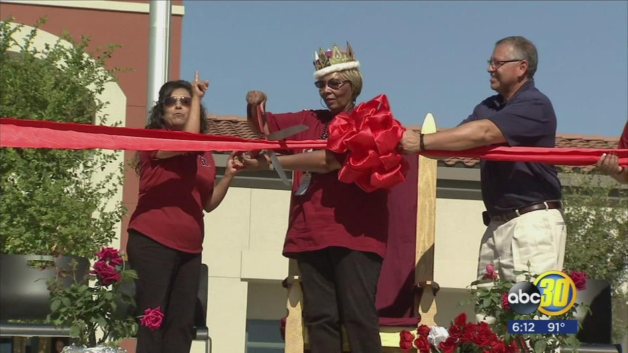 Madera Unified?s newest school held rally to welcome students while honoring legacy of its namesake