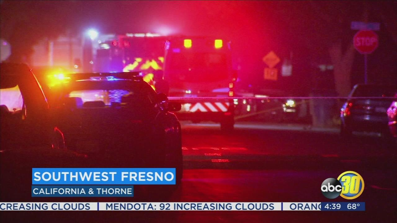 Police investigating shooting in Southwest Fresno that leaves 18-year-old injured