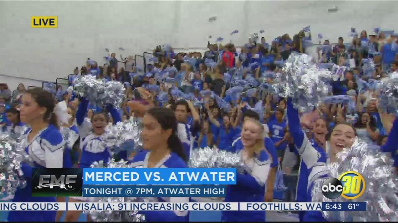 FRIDAY MORNING FOOTBALL: Atwater Falcons getting ready for the Santa Fe Bowl
