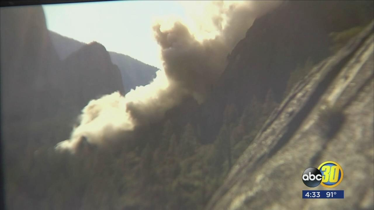 Why rockfalls happen in Yosemite