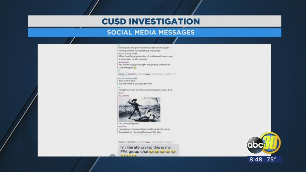Clovis USD investigating after students allegedly post racially charged slave messages