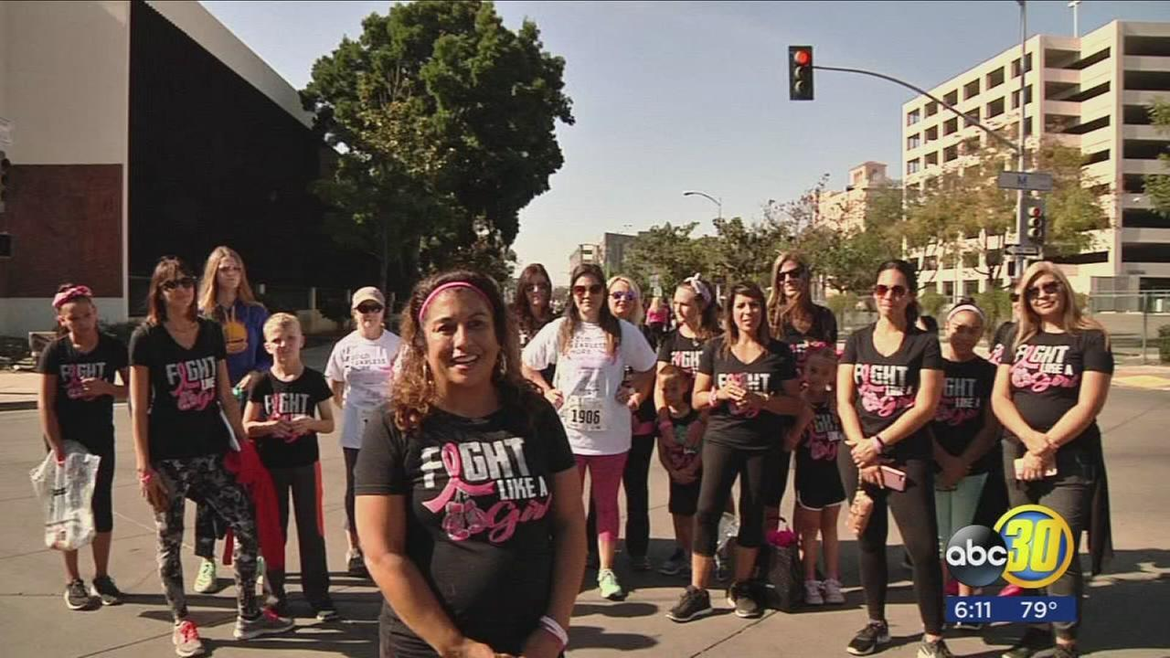 Race for the Cure runner looks to win her personal race with breast cancer