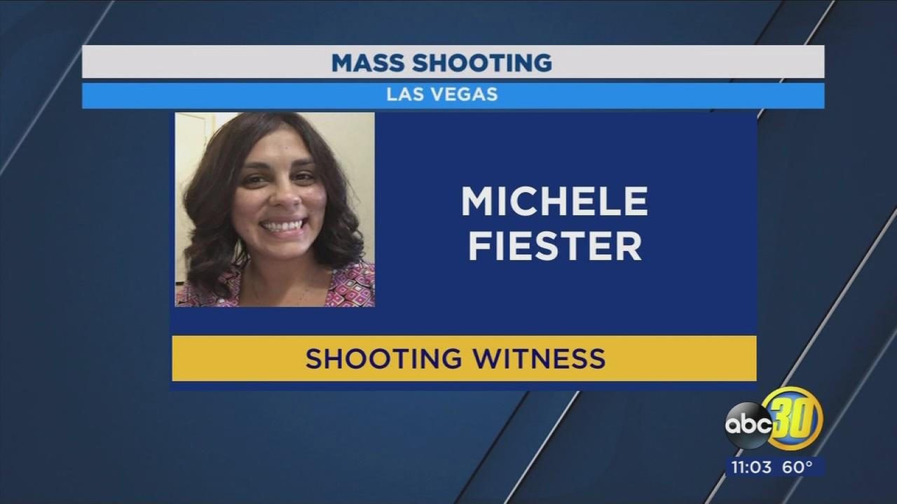 Clovis woman describes terrifying moments being in the middle of Las Vegas mass shooting
