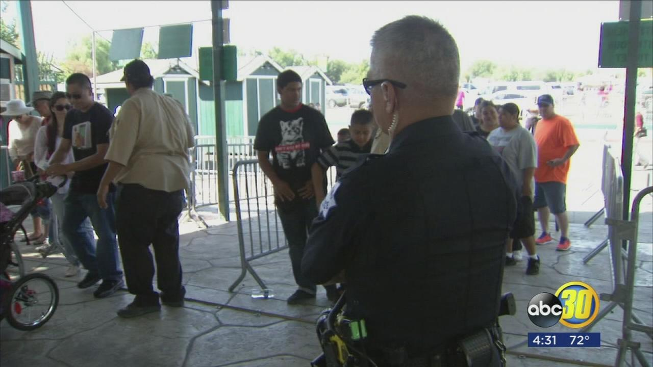 New polices and security measures at the Big Fresno Fair