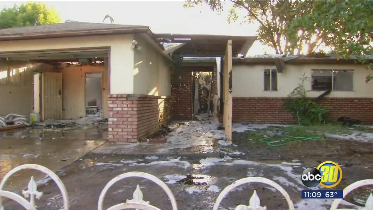 Marijuana grow found after house fire in Northwest Fresno