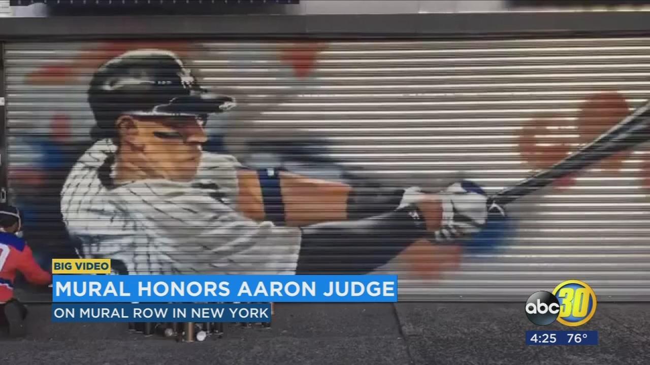 aaron judge mural