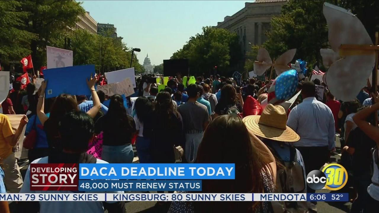 Deadline here for DACA applications