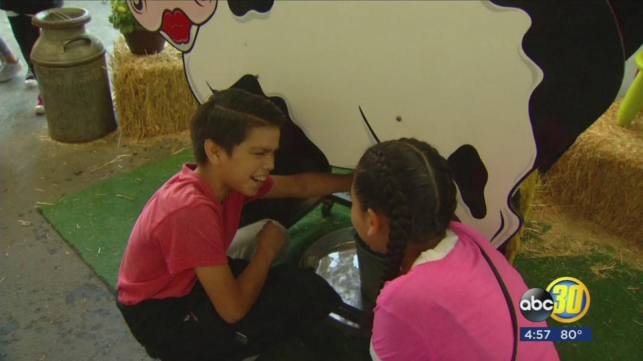 The Big Fresno Fair took the learning outside of the classroom for more than 170 schools throughout the Valley