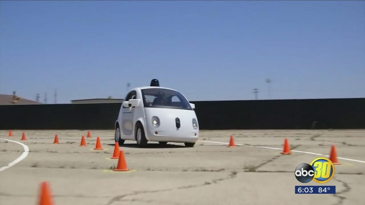 Merced County officials working to make former Castle Air Force Base into an area for testing self-driving cars
