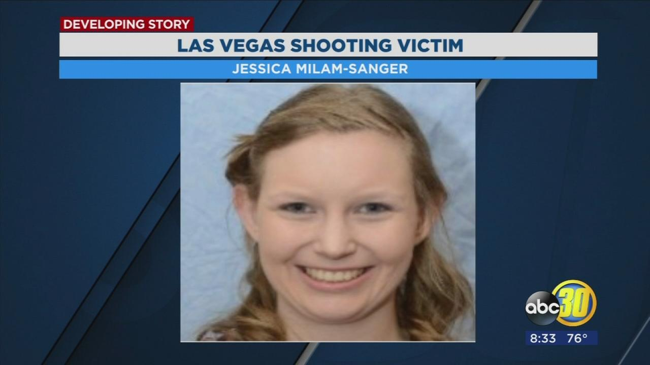 Encouraging news about Sanger woman shot during Las Vegas massacre improving