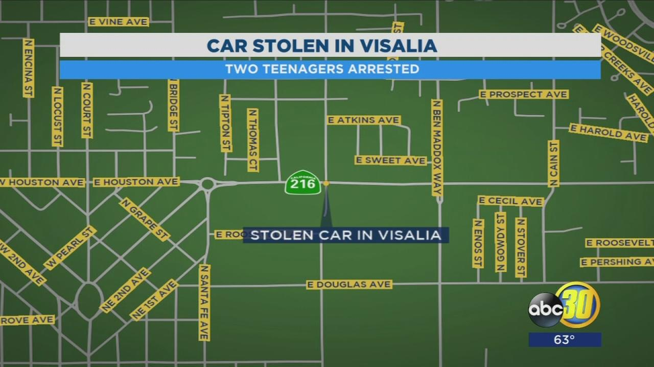 Teen girls arrested in Visalia