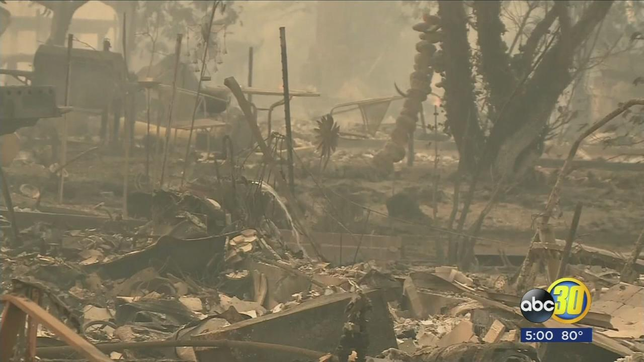 Death toll climbs to 10 as apocalyptic wildfires destroy parts of north Bay Area