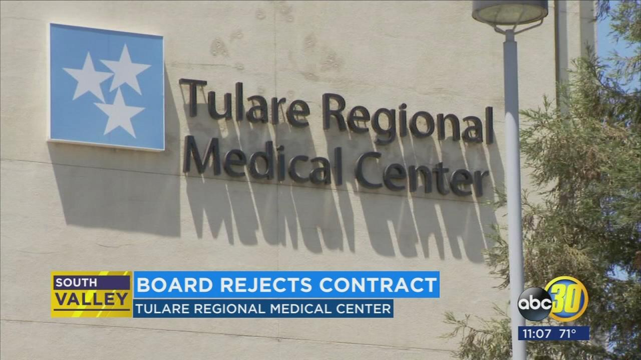 Tulare Regional Medical Center files for bankruptcy