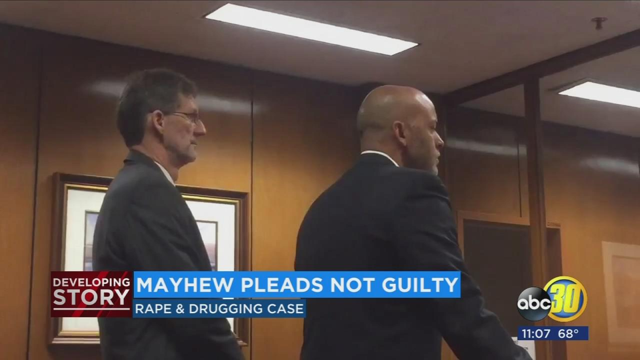Bullard High School teacher pleads not guilty to rape and drugging charges