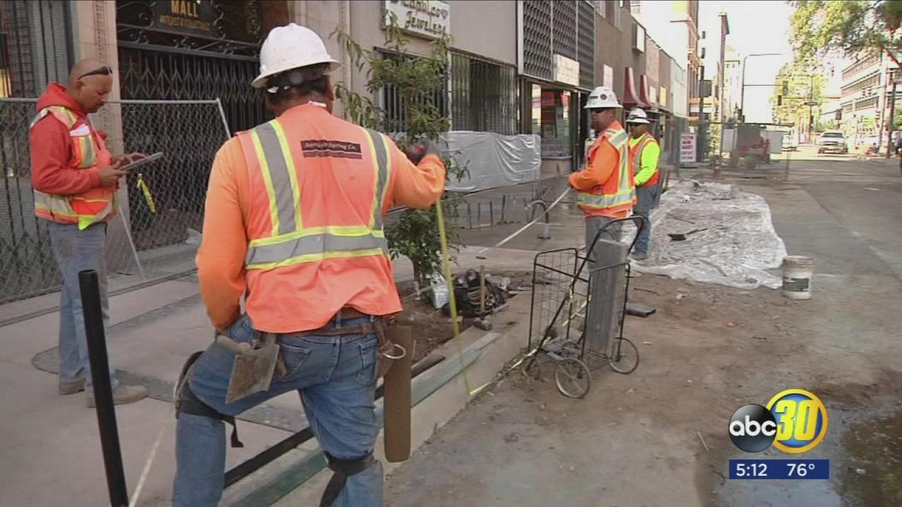 Entire stretch of Fulton Street in downtown Fresno will open to two way traffic