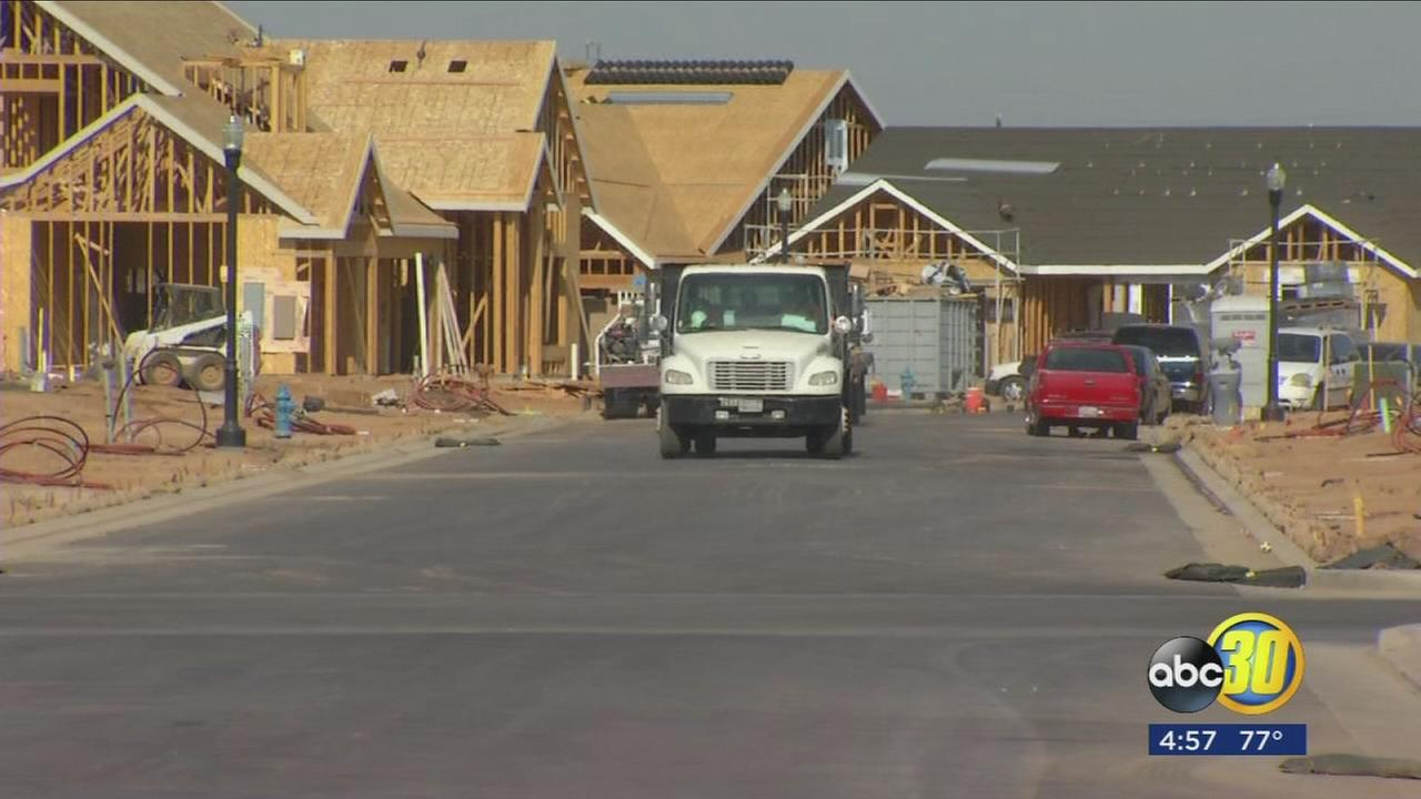 Part of Madera County undergoing change as new master plan communities begin to go in