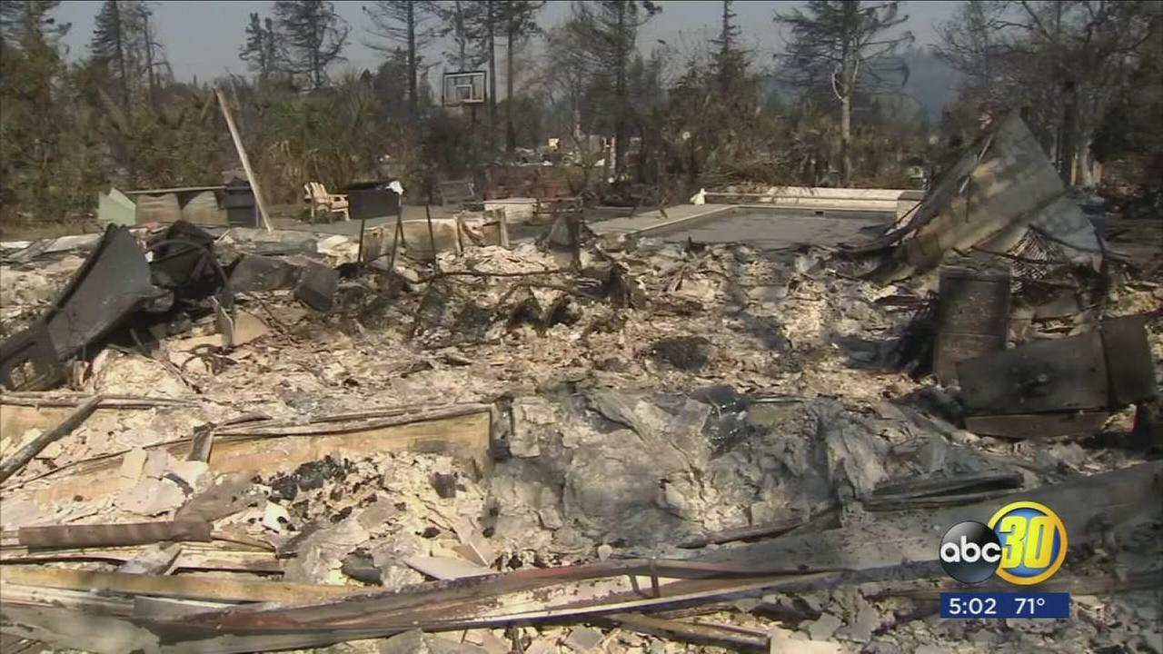 Two former Fresno State professors home, completely destroyed