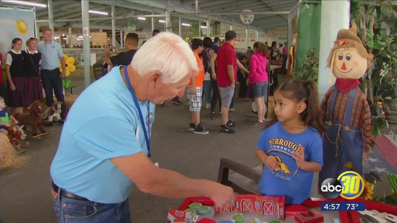 Education day wraps up, learning continues with help of volunteers at Big Fresno Fair