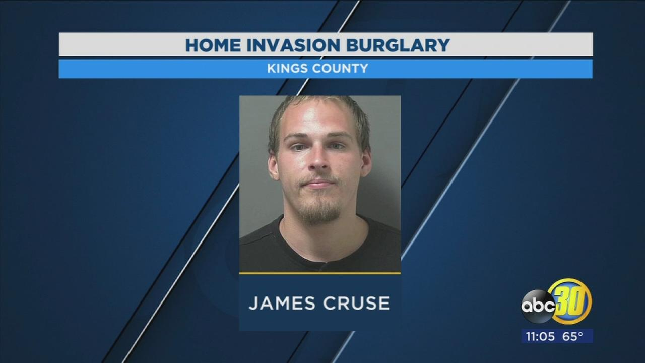 Authorities say man arrested in Kings County linked to several burglaries