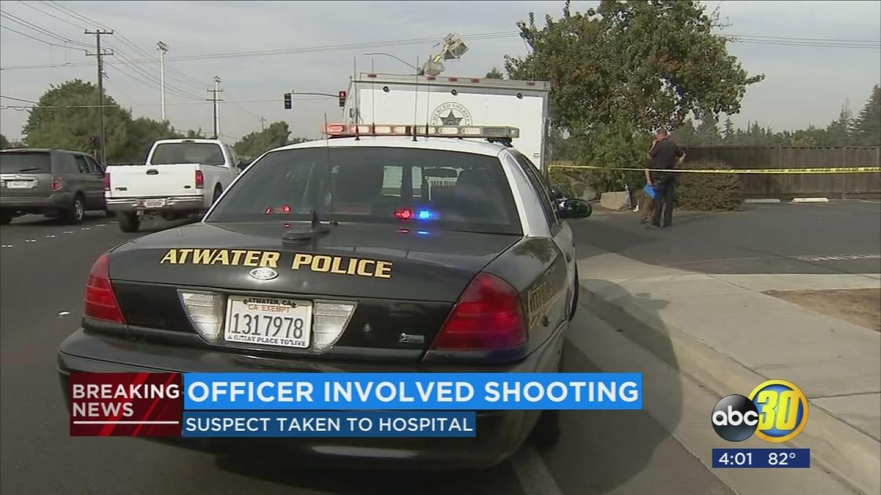 Authorities investigating officer-involved shooting in Atwater