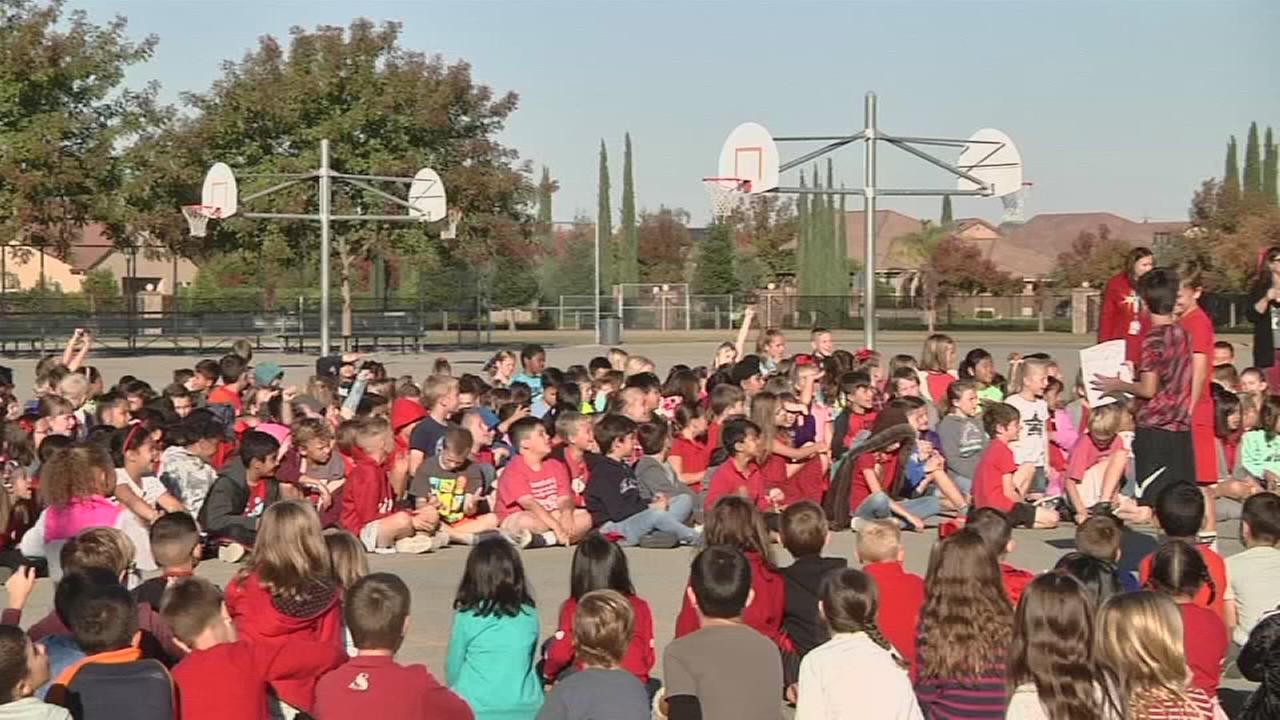 Valley students learning how to live drug free lives during Red Ribbon Week