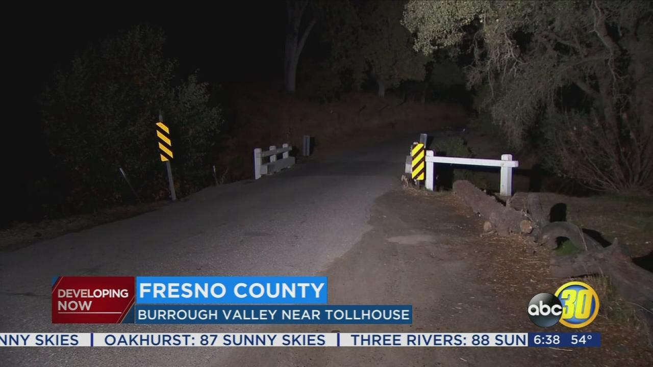 Female dead, body found in creek near Tollhouse