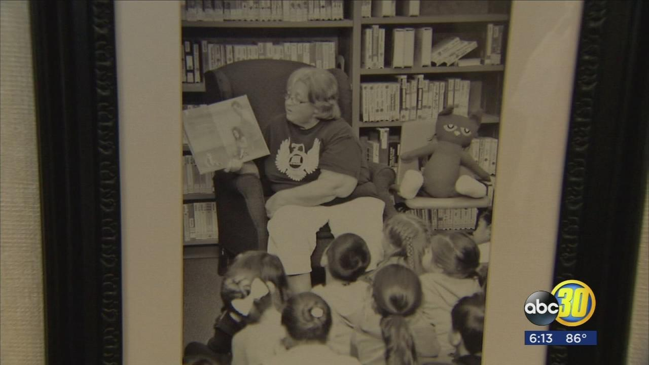 Pinedale Elementary threw a heart-felt retirement party for a beloved librarian