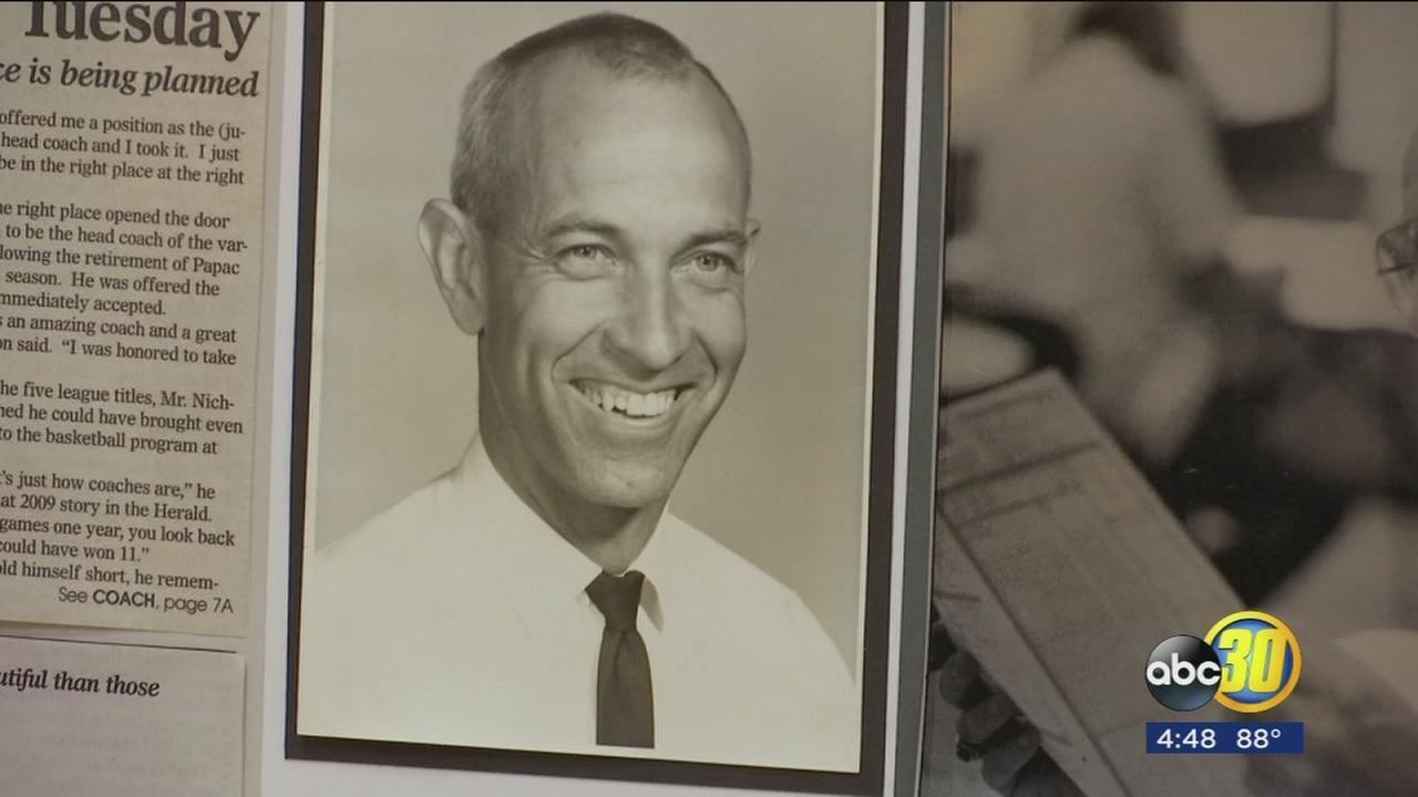 Sanger High School celebrating the life of beloved coach
