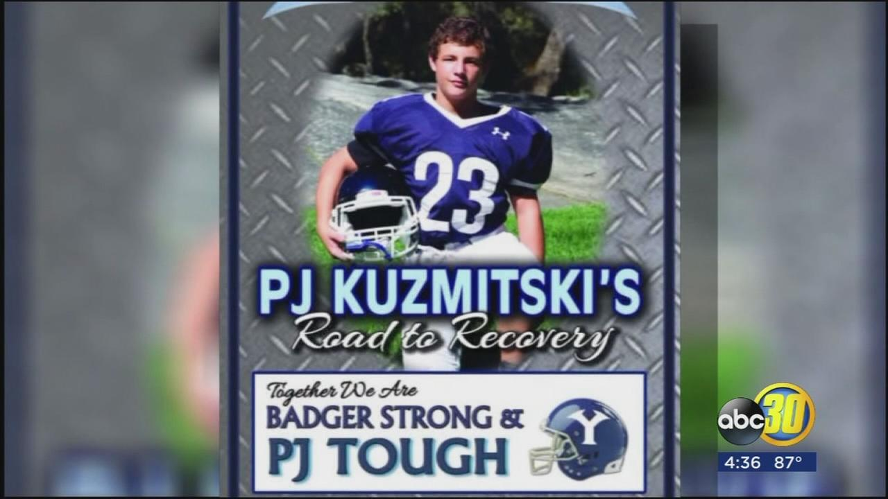 Yosemite High School is preparing to welcome a member of their family back onto the field