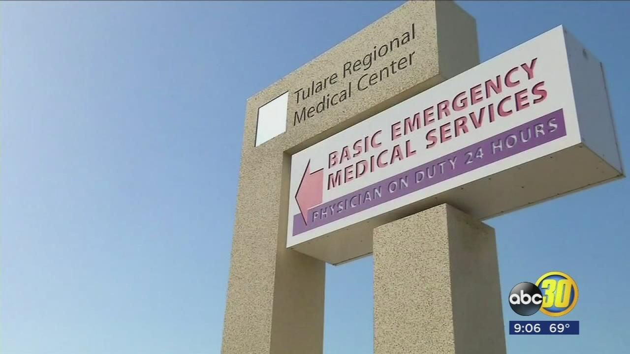 The Tulare Regional Medical Center is closing its doors to patients Saturday at midnight