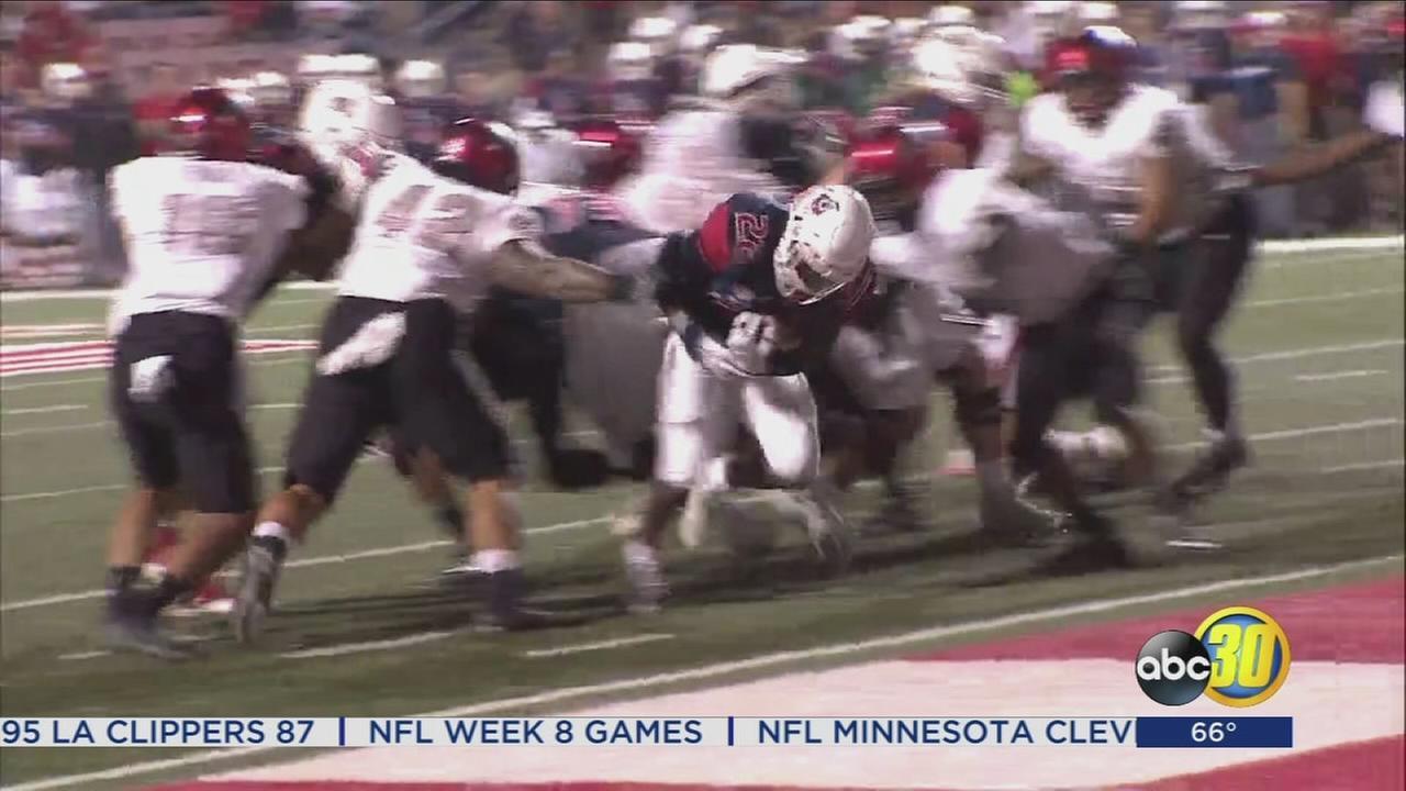 UNLV defeats Fresno State, 26-16