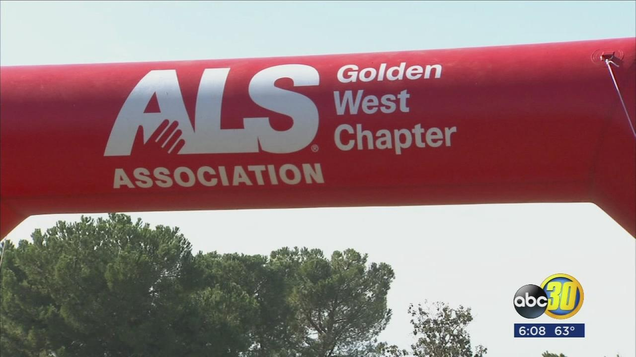 The ALS association hosted its 16th Annual Walk to Defeat ALS