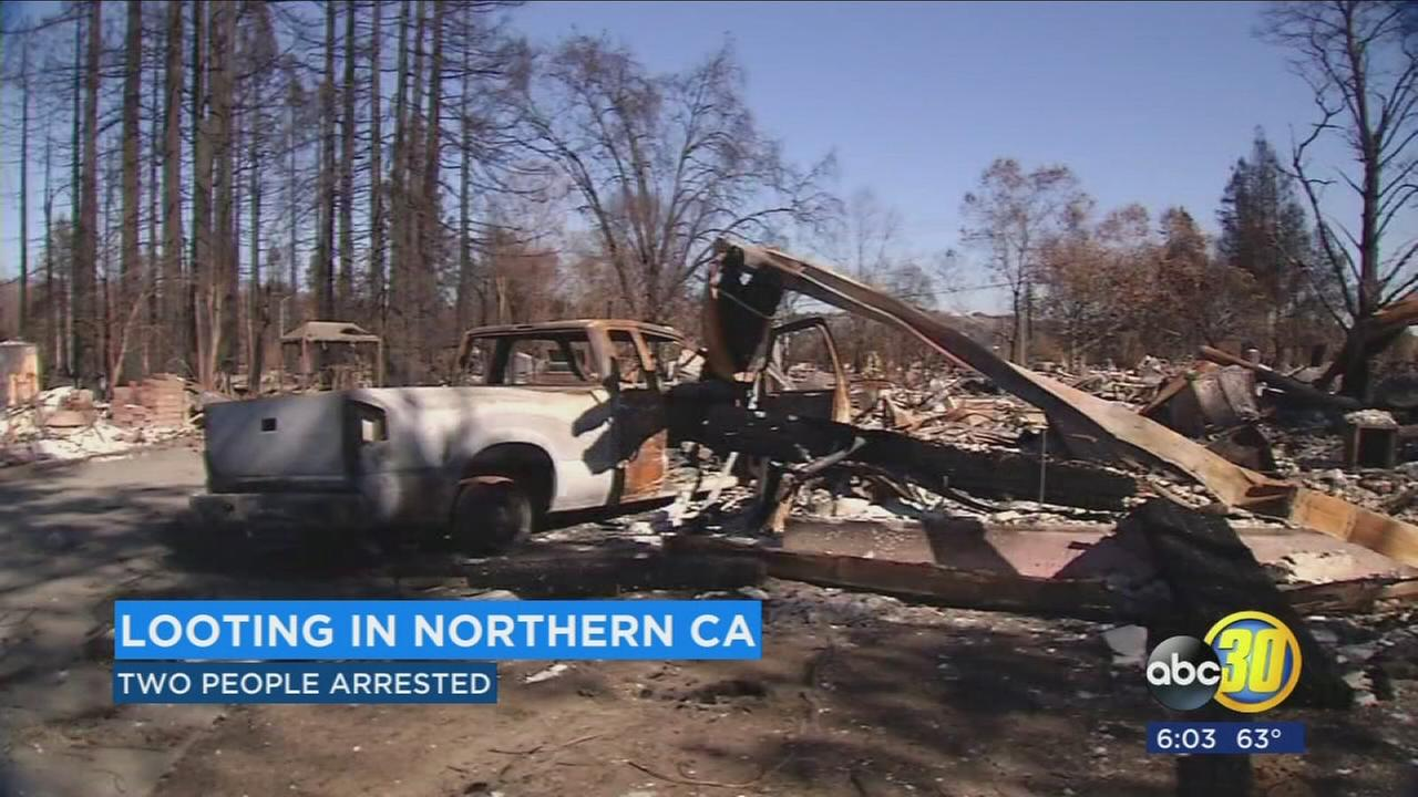Looters arrested in Northern California