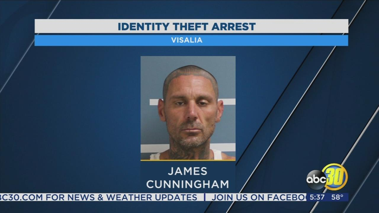 ID theft materials found in suspects car, Visalia Police say