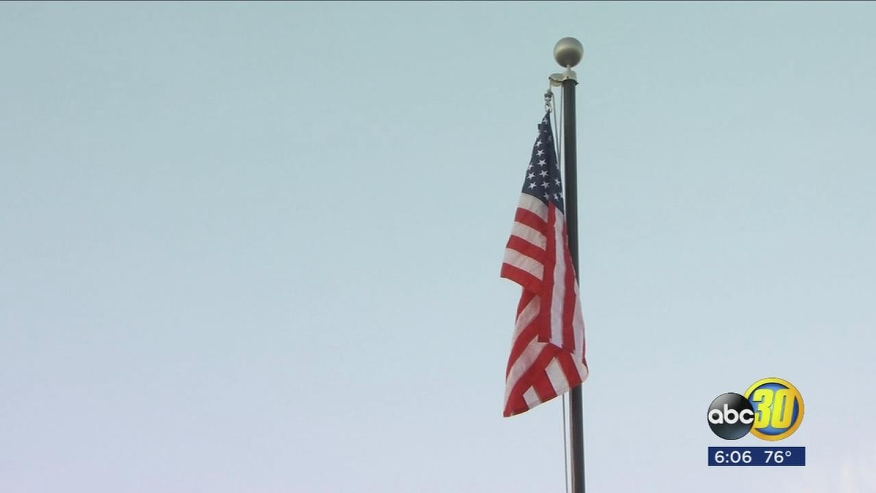 103017-Kfsn-6p-chandler-flag-80th-vid_1