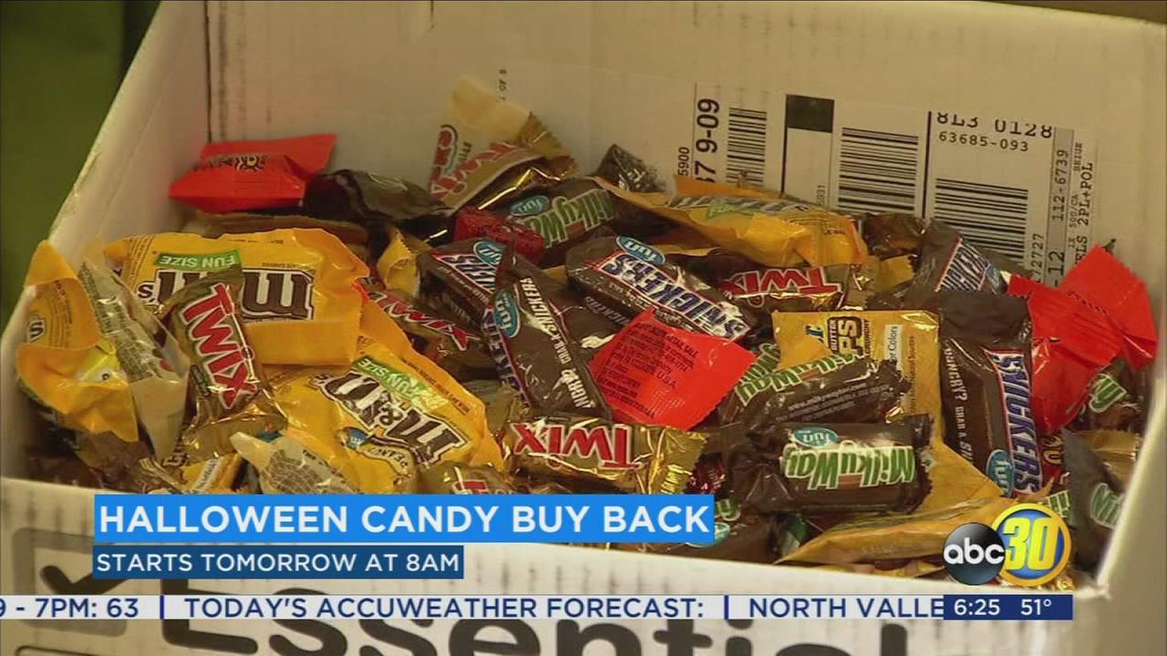 Fresno dentists buying back candy to send to troops and first responders overseas