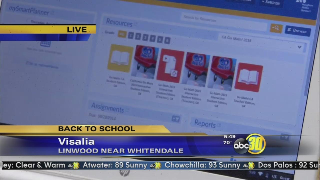 Visalia students head back to school