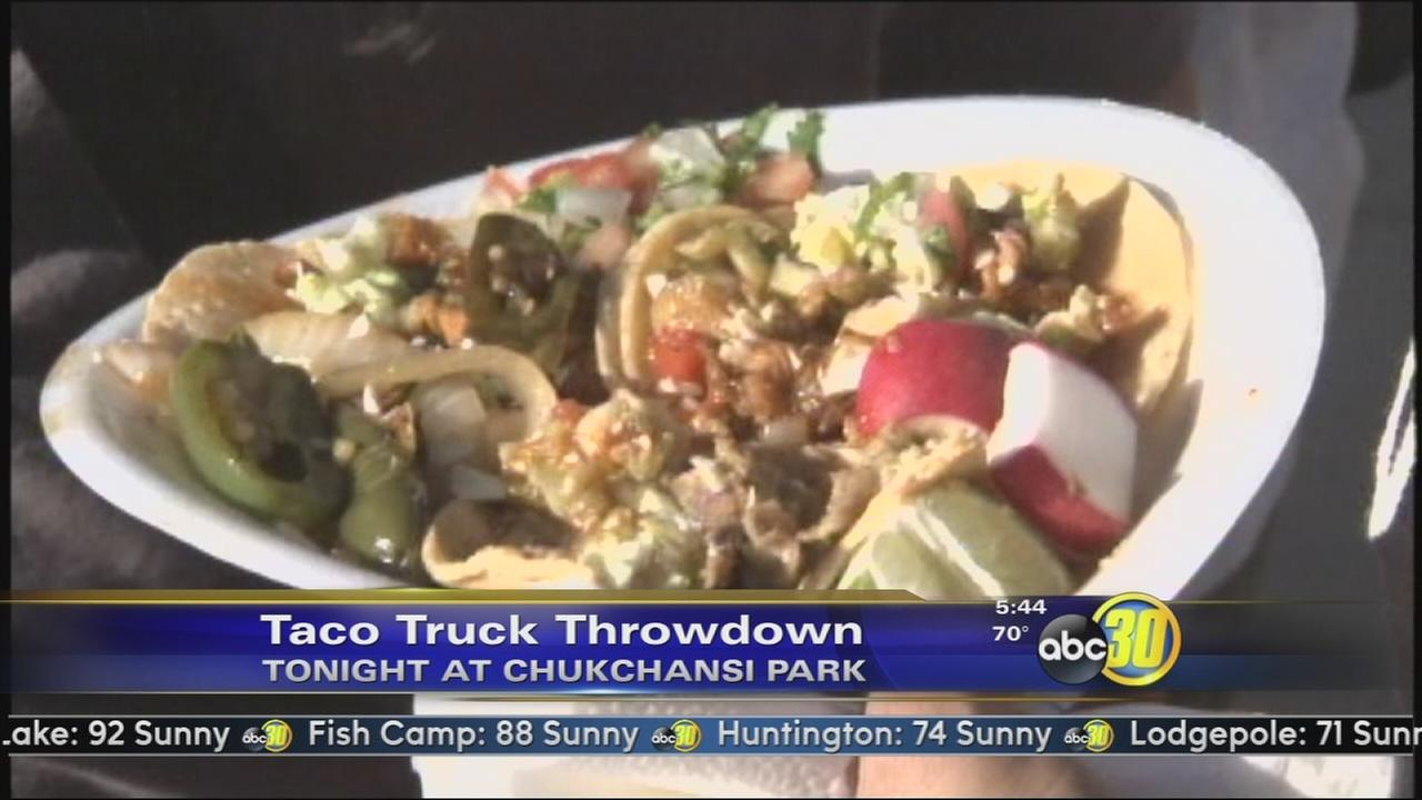 Taco Truck Throwdown in Downtown Fresno