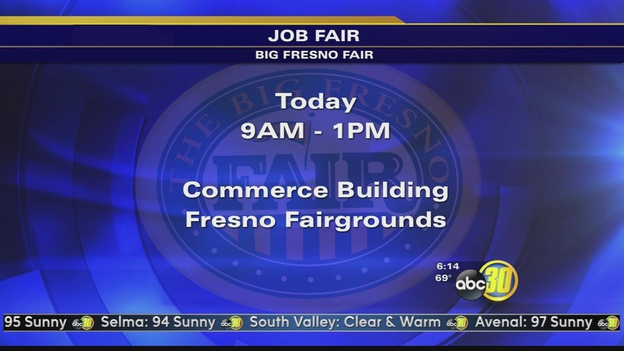 Big Fresno Fair holds a hiring fair