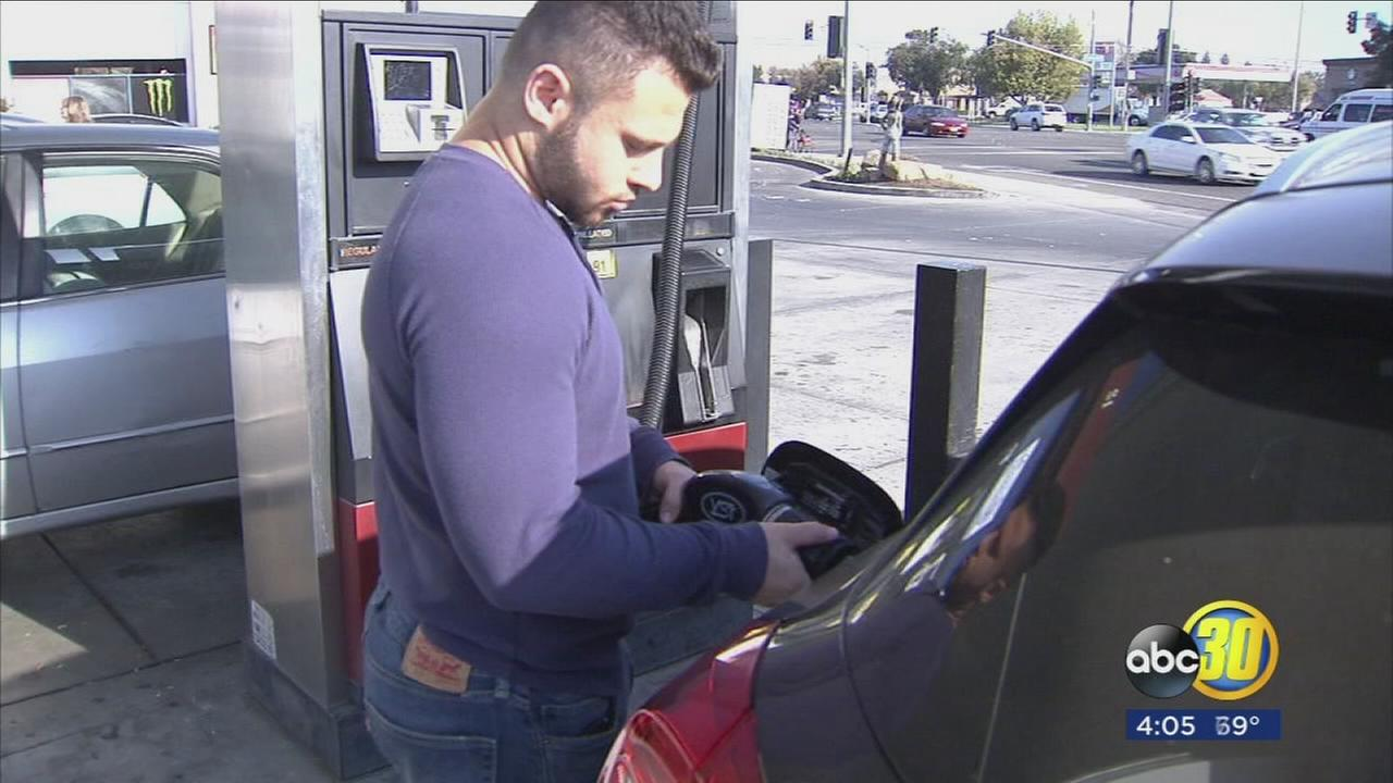 Drivers in California are seeing higher prices at the pump