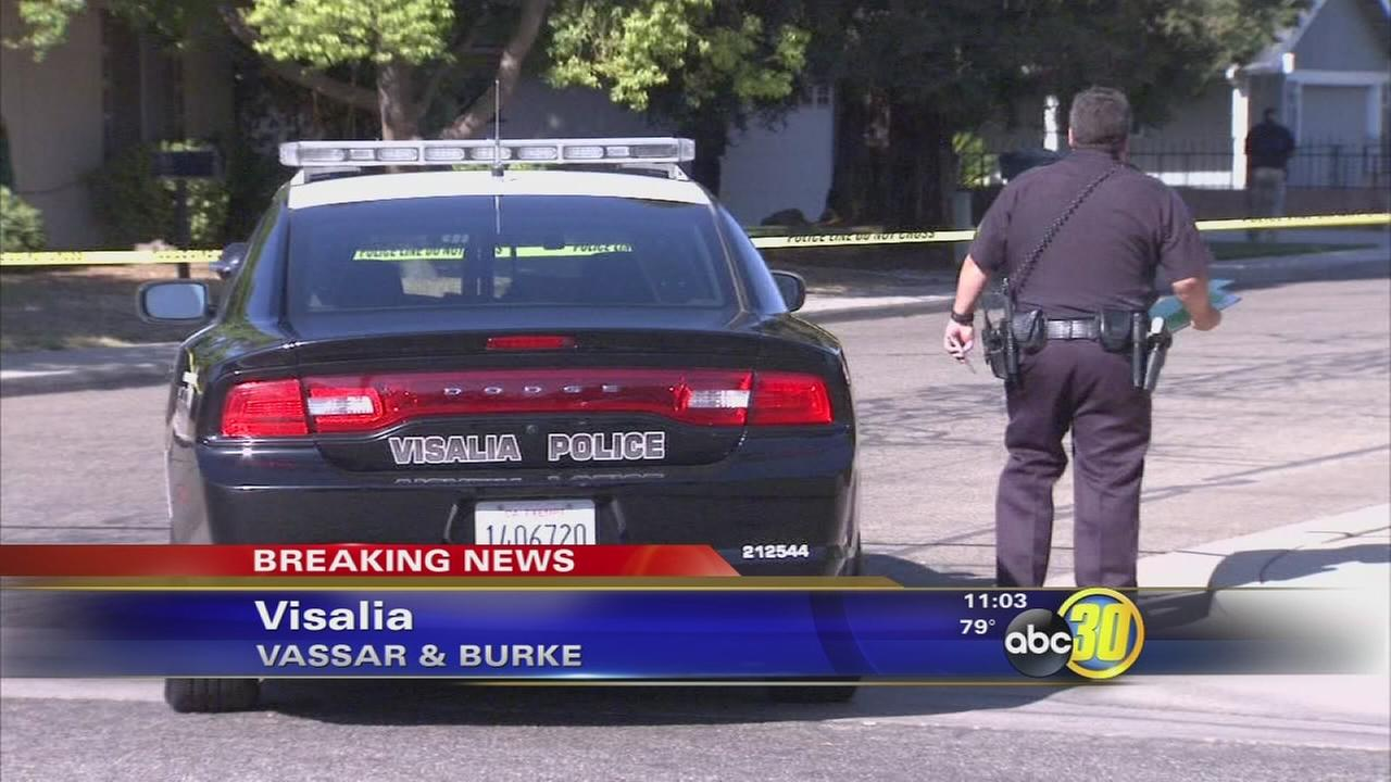 Man killed in Visalia shooting