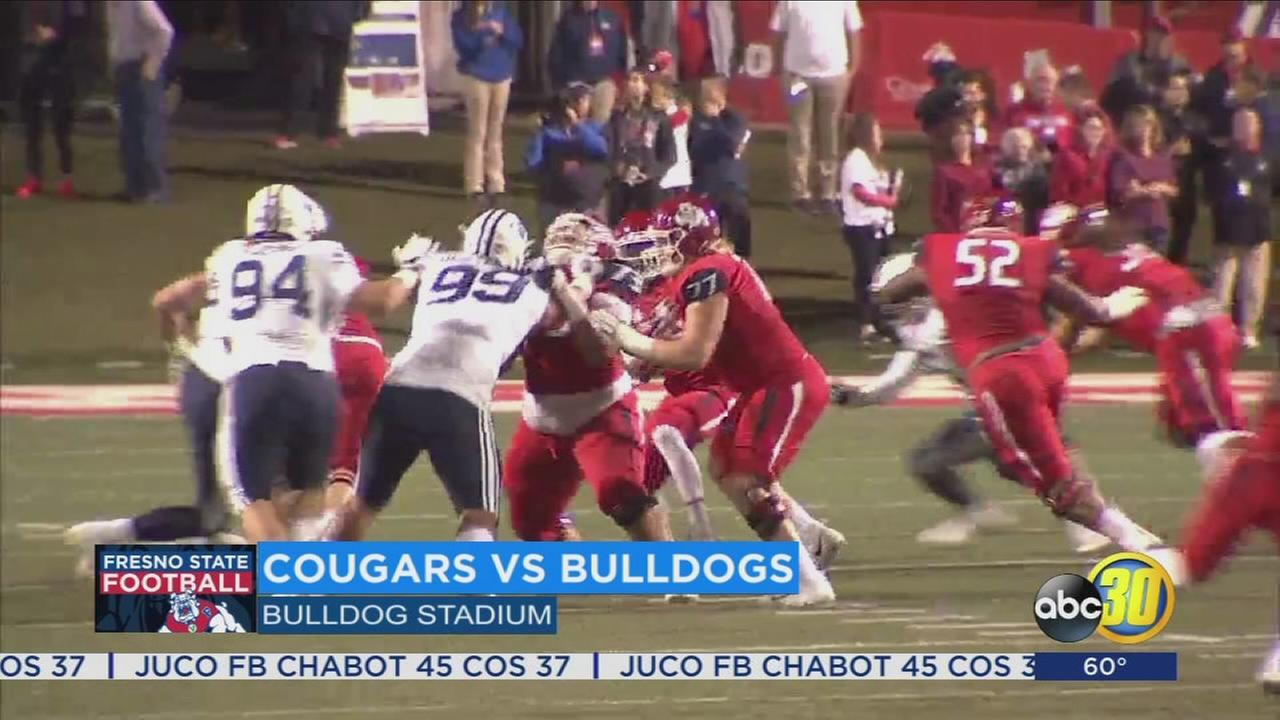 Fresno State beats BYU, becomes bowl eligible