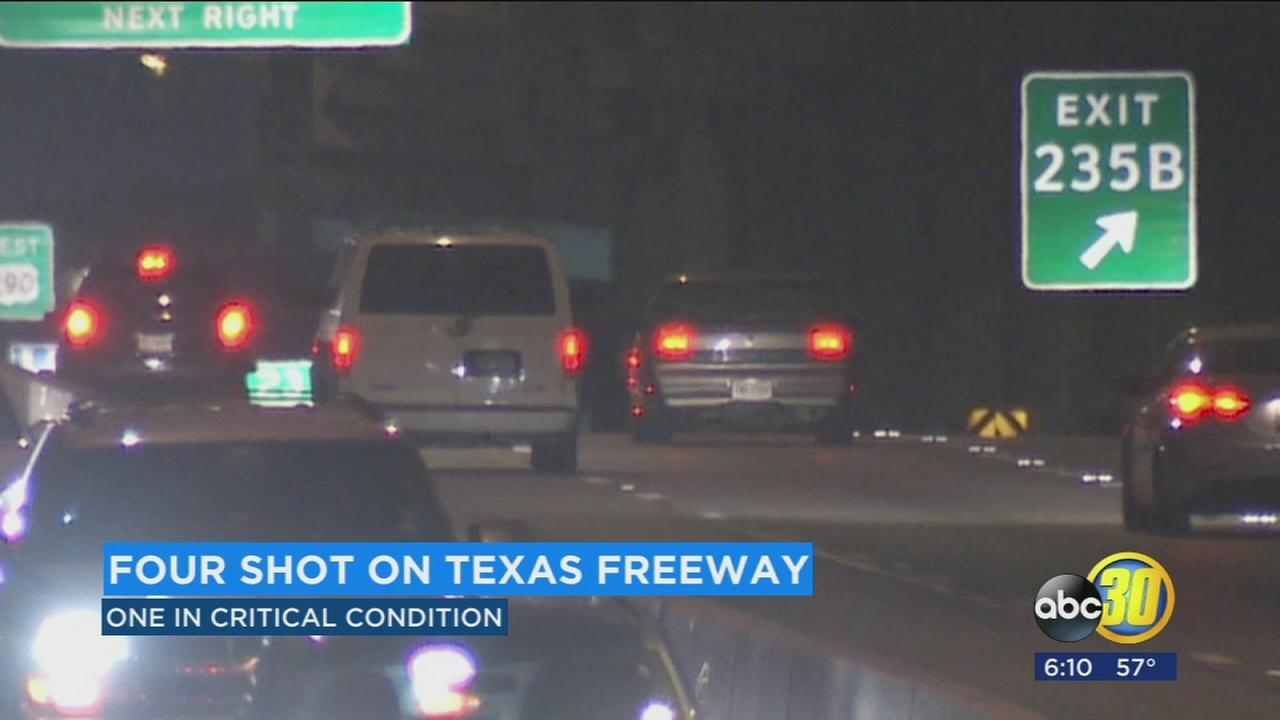 Authorities say a suspect shot several people in cars on a highway in Austin for over an hour.