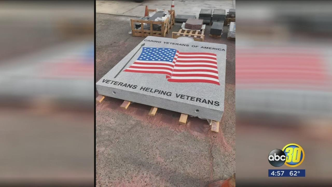 A permanent tribute for local veterans is about to be unveiled in Madera County