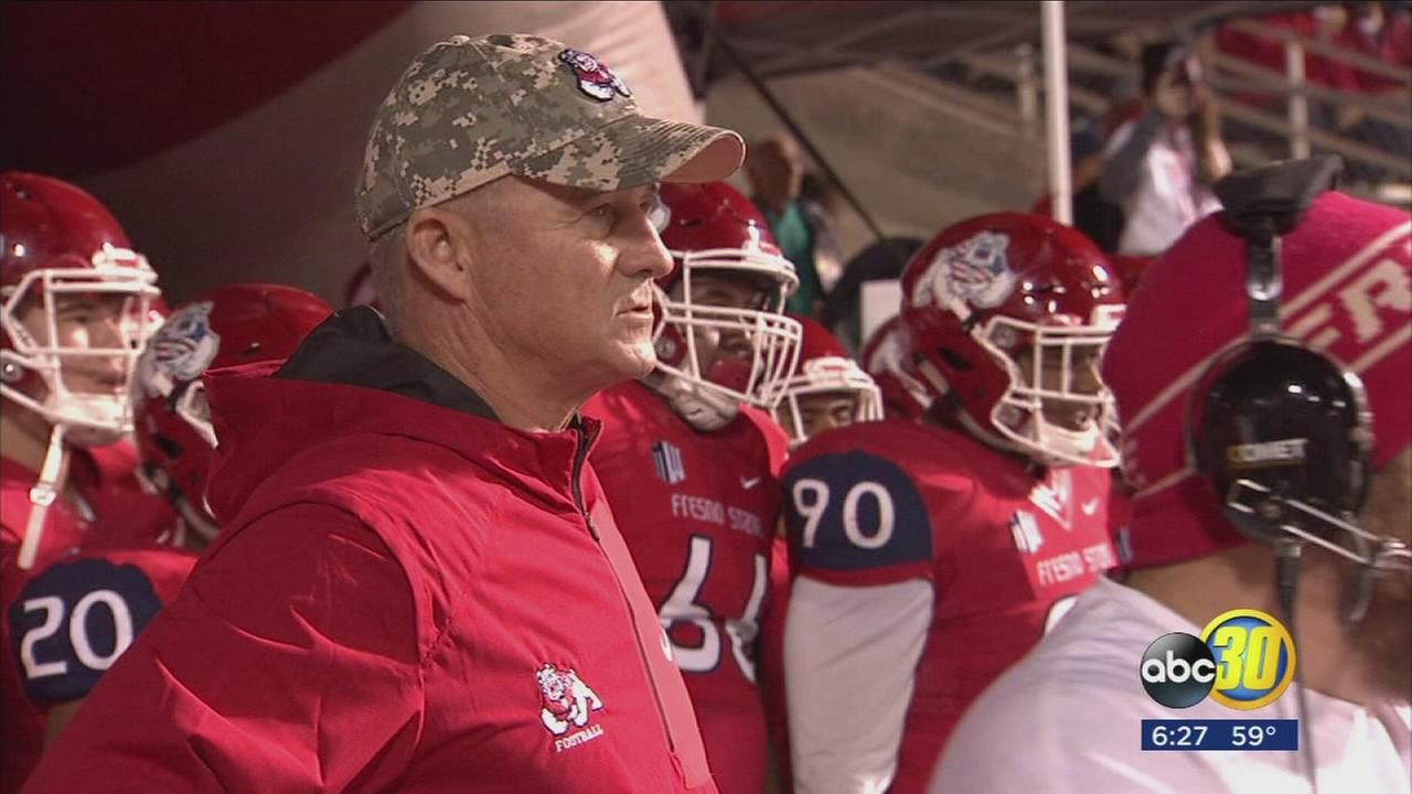 Fresno State became bowl eligible with a win over BYU on Saturday night