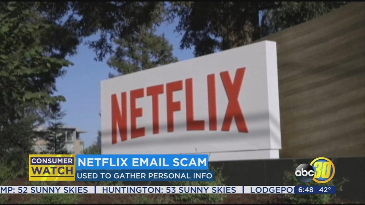 Binge Watchers Beware: scammers are trying to use Netflix to get your personal information