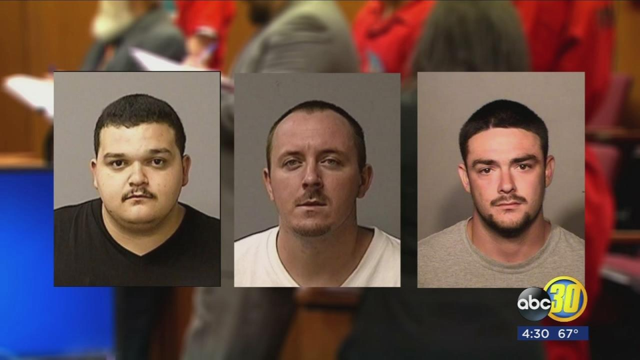 Three men involved in the PRK gun store burglary are in custody