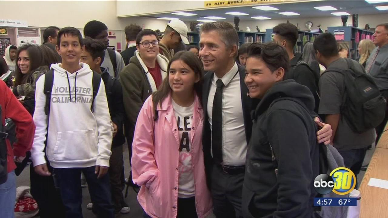 The City of Fresno and its sister city in France are benefiting students at Central High School