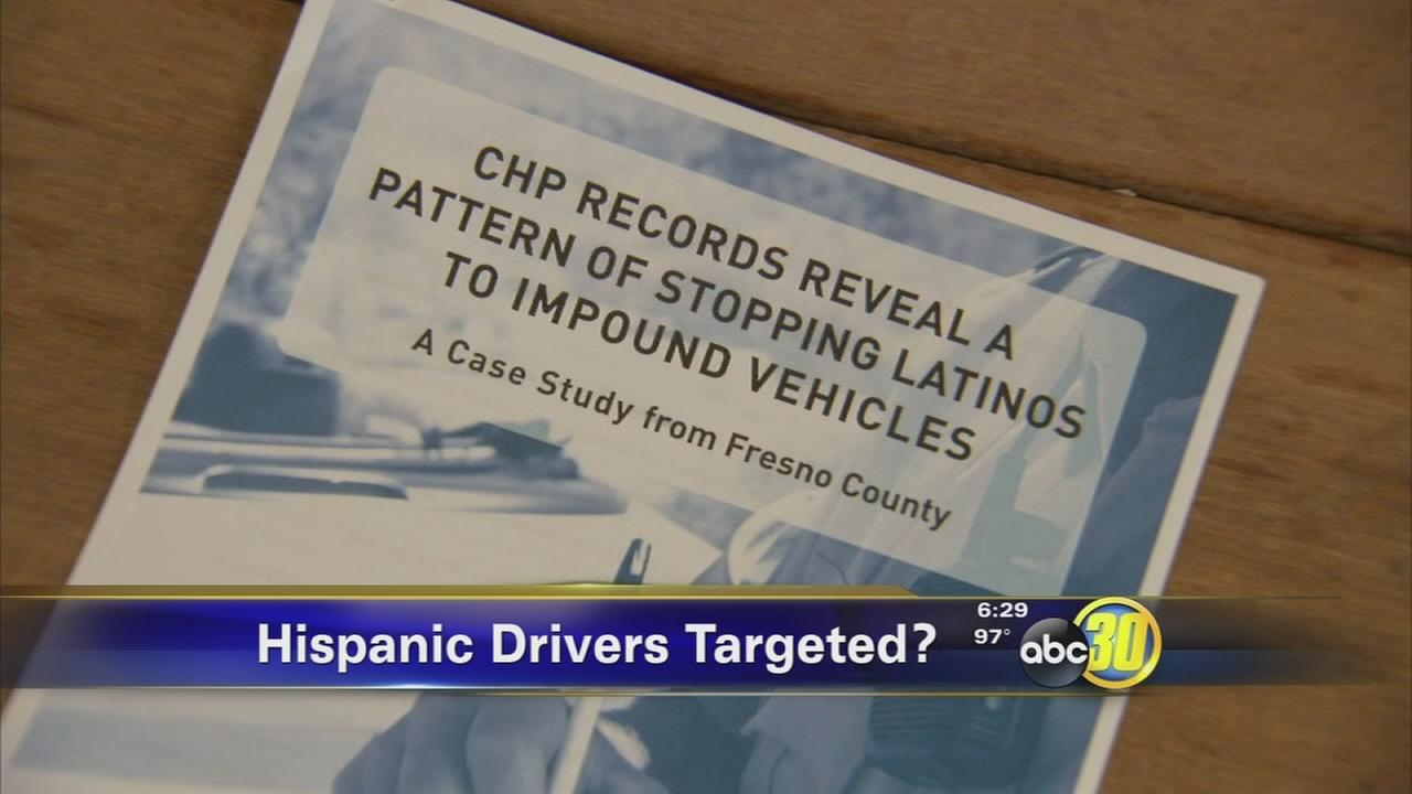 CHP disputes racial profiling of Latino drivers in Fresno County