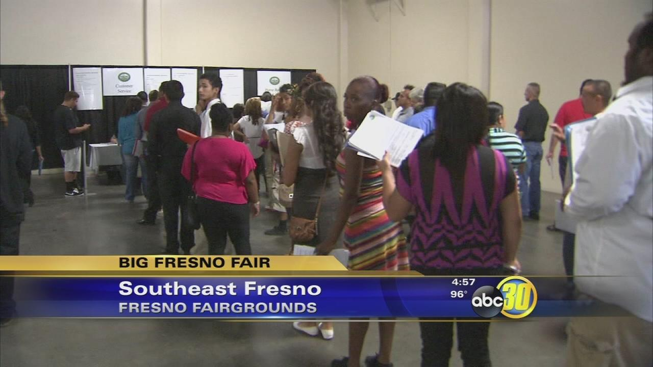 big fresno fair job fair